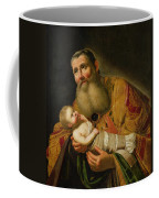 St Simeon Presenting The Infant Christ In The Temple  Coffee Mug