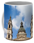St. Stephen's Basilica Dome And Bell Towers Coffee Mug