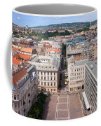St Stephen's Square In Budapest Coffee Mug