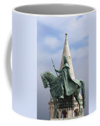 St Stephen's Statue In Budapest Coffee Mug