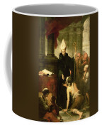 St. Thomas Of Villanueva Distributing Alms, 1678 Oil On Canvas Coffee Mug