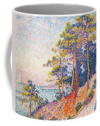 St Tropez The Custom's Path Coffee Mug by Paul Signac