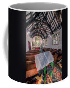 St Tysilios Bible Coffee Mug by Adrian Evans