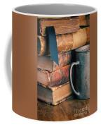 Stack Of Vintage Books Coffee Mug