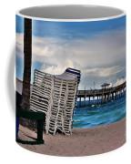 Stacked Beach Chairs Coffee Mug