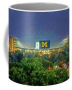 Stadium At Night Coffee Mug