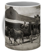 Stage Coming Through Tombstone Coffee Mug