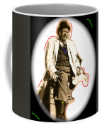 Stagecoach Homage 1939 Andy Devine On Stage Old Tucson Arizona Coffee Mug