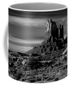 Stagecoach Rock Monument Valley Coffee Mug