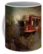 Stagecoach West Sepia Textured Coffee Mug