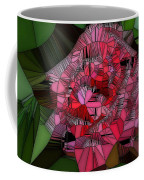 Stain Glass Rose Coffee Mug