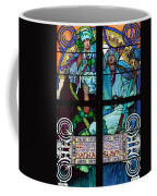 Stained Galss Window In St Vitus Coffee Mug