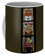 Stained Glass 3 Panel Vertical Composite 06 Coffee Mug