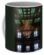 Stained Glass And Chandelier  Coffee Mug