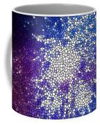 Stained Glass Beautiful Fireworks 1 Coffee Mug