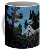 Stained Glass Church Scene Coffee Mug