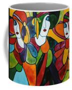 Stained Glass Iv Coffee Mug