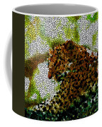 Stained Glass Leopard 2 Coffee Mug
