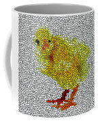 Stained Glass Little Chicken Coffee Mug