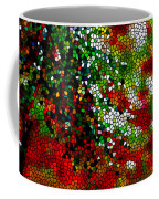 Stained Glass Pine Tree Coffee Mug