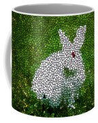 Stained Glass Rabbit Coffee Mug
