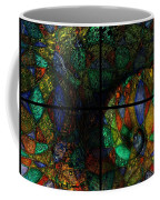 Stained Glass Spiral Coffee Mug