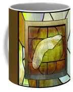 Stained Glass Template Maple Seedling Coffee Mug