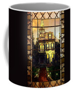 Stained Glass Template Victorian Twilight Coffee Mug