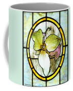 Stained Glass Template Woodlands Flora Coffee Mug