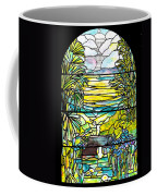 Stained Glass Tiffany Holy City Memorial Window Coffee Mug