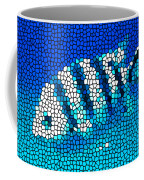Stained Glass Underwater Fish Coffee Mug