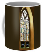 Stained Glass Window In Arch Coffee Mug