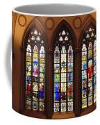 Stained Glass Windows At Saint Josephs Cathedral Buffalo New York Coffee Mug