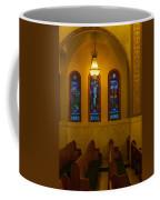 Stained Glass Windows At St Sophia Coffee Mug