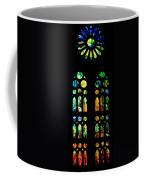 Stained Glass Windows - Sagrada Familia Barcelona Spain Coffee Mug