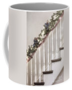 Stairs At Christmas Coffee Mug by Margie Hurwich