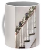 Stairs At Christmas Coffee Mug