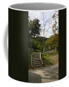 Stairs In The Park Coffee Mug