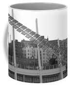 Stairs In The Sky In Black And White Coffee Mug