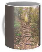 Stairs Into The Forest Coffee Mug