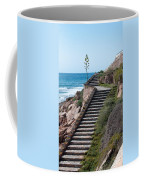 Stairway And Agave On Top. Coffee Mug