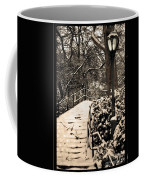 Stairway In Central Park On A Stormy Day Coffee Mug