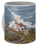 Stairway Leading To Point Reyes Lighthouse Coffee Mug
