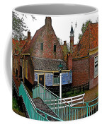 Stairway To Enkhuizen From The Dike-netherlands Coffee Mug