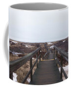 Stairway To The Atlantic Coffee Mug