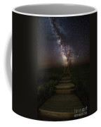 Stairway To The Galaxy Coffee Mug