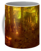Stalactite Cave In Yellow Coffee Mug