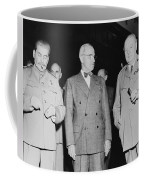 Stalin Truman And Churchill  Coffee Mug