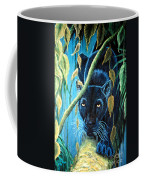 Stalking Black Panther Coffee Mug