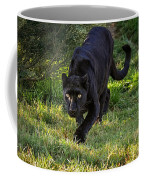 Stalking Leopard Coffee Mug